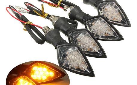 Sada LED blinkrů na motocykl - 4 ks