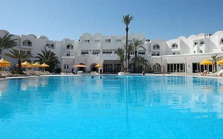 Tunisko - Djerba na 8 dní, all inclusive nebo polopenze s dopravou letecky z Prahy 300 m od pláže