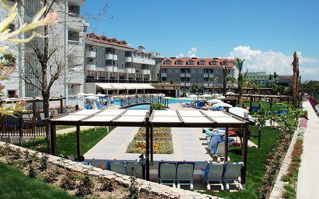 Turecko - Side na 8 až 9 dní, all inclusive s dopravou letecky z Prahy nebo Brna 250 m od pláže