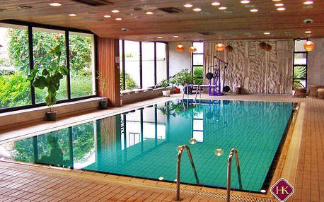 Maďarské romantické lázně Győr v 3* hotelu s neomezeným wellness a polopenzí + varianty se vstupem do termálů