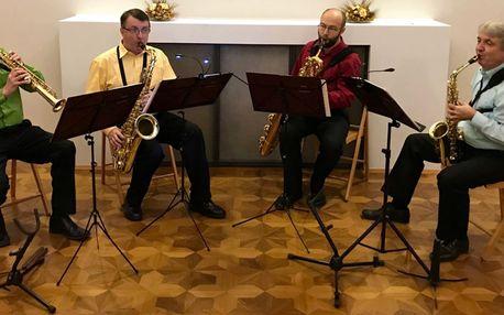 Koncert: Od baroka po Gershwina pro 4 saxofony