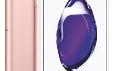 Mobilní telefon Apple iPhone 7 32 GB - Rose Gold (MN912CN/A) SIM karta T-Mobile 200Kč Twist Online Internet + Software F-Secure SAFE, 3 zařízení / 6 měsíců v hodnotě 1 179 Kč + DOPRAVA ZDARMA