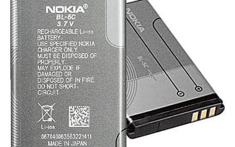 Baterie Nokia BL-5C, Li-Ion 1020mAh šedá (0278813)