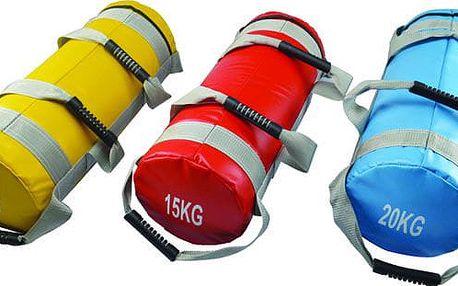 CorbySport 29426 Posilovací vak (bag, pytel)15 kg se čtyřmi úchopy