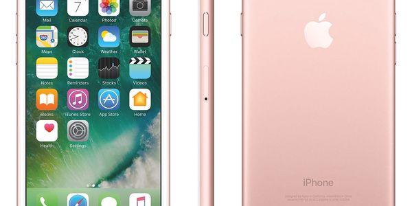 Mobilní telefon Apple iPhone 7 32 GB - Rose Gold (MN912CN/A)3