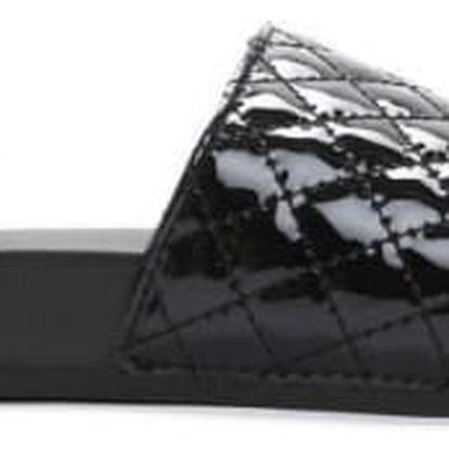 Dámské černé pantofle Keala 10761C
