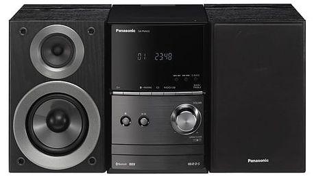Mikrosystém Panasonic SC-PM600EG-K černá/hliník