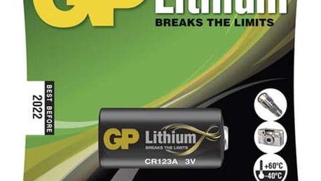 Baterie lithiová GP CR123A (B1501)