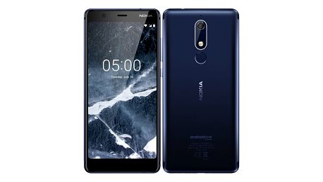 Mobilní telefon Nokia 5.1 Dual SIM modrý + dárek (11CO2L01A13)