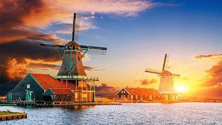 3denní podzimní víkendový zájezd pro 1 do skanzenu Zaanse Schaans a Amsterdamu