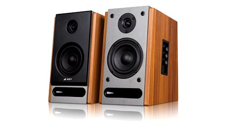 Reproduktory Fenda F&D R25BT 2.0, bluetooth, NFC dřevo (R25BT)