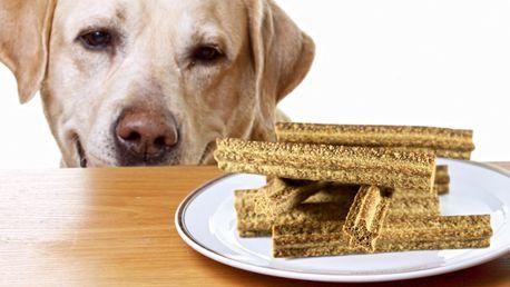 Dentální hovězí tyčinky pro psy