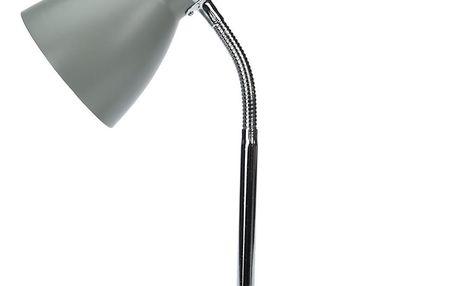 Stolní lampa Cassino šedá, 34 cm