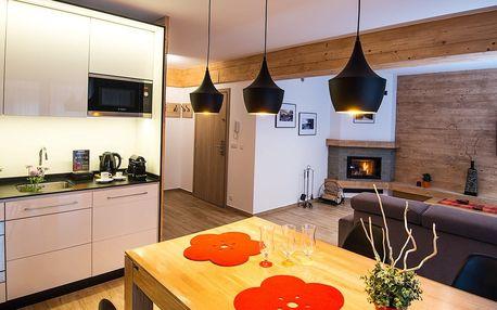 Nové rodinné apartmány Tatry Apart v Zakopaném