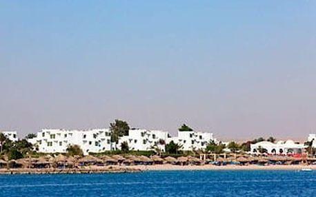 Egypt - Hurghada na 8 dní, all inclusive nebo ultra all inclusive s dopravou letecky z Prahy přímo na pláži