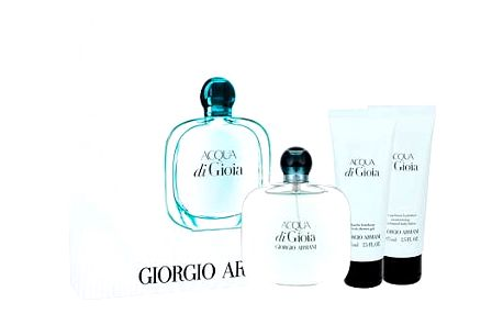 Giorgio Armani Acqua di Gioia EDP dárková sada W - EDP 100 ml + tělové mléko 75 ml + sprchový gel 75 ml