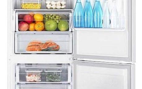 Chladnička s mrazničkou Samsung RB3000 RB33J3205WW/EF bílá