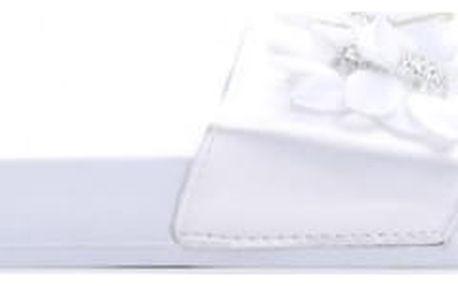 Dámské bílé pantofle Serena 10761F