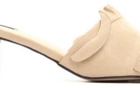 Dámské béžové pantofle Maria 1485