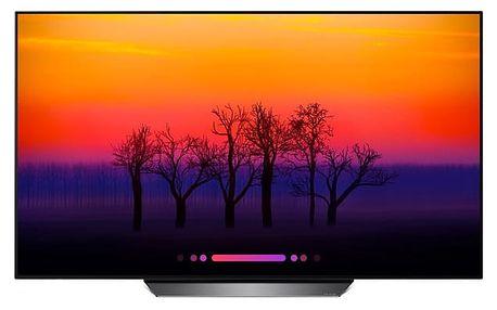 Televize LG OLED55B8PLA titanium