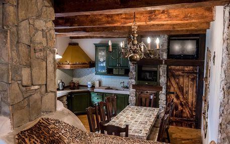 Pronájem celé chaty až pro 10 osob pod Tatrami