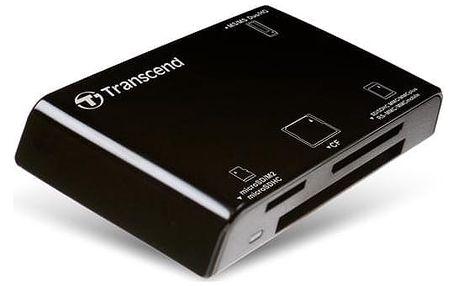 Čtečka paměťových karet Transcend P8-K černá (TS-RDP8K)