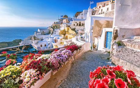 Řecko - Santorini na 8 až 12 dní, polopenze nebo snídaně s dopravou letecky z Prahy 50 m od pláže