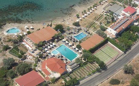 Řecko - Rhodos na 4 až 15 dní, all inclusive, polopenze nebo bez stravy s dopravou letecky z Prahy 80 m od pláže
