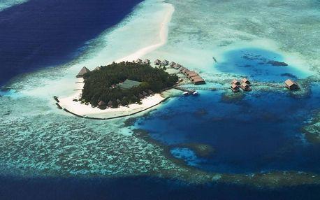 Maledivy - Atol Ari na 10 dní, polopenze nebo snídaně s dopravou letecky z Prahy přímo na pláži