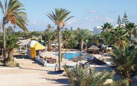 Tunisko - Djerba na 8 až 15 dní, all inclusive s dopravou letecky z Prahy 200 m od pláže