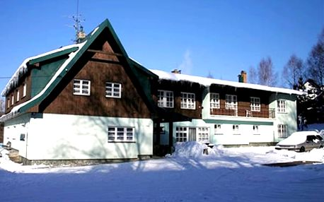 Zimní pobyt pro dva s polopenzí a all inclusive na nápoje v Harrachově v Hotelu U Supa.