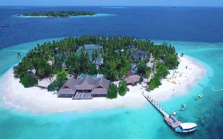 Maledivy - Severní Atol Male na 10 dní, plná penze, polopenze nebo snídaně s dopravou letecky z Prahy