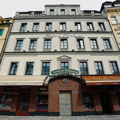 Karlovy Vary: 3-4 dny pro dva s polopenzí a vstupem do lázní