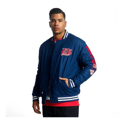 Ecko Unltd. / College Jacket Big Logo in blue M