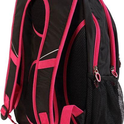 Originální batoh Alpine Pro Magali v černé či růžové barvě