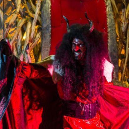 Luciferovo doupě na 1 noc s programem a obžertsvím pro celou rodinu