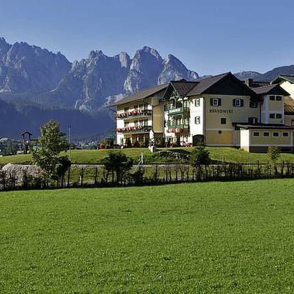 Rakousko - Dachstein West na 4 až 5 dní, polopenze, snídaně nebo bez stravy s dopravou vlastní