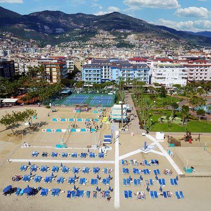 Turecko - Alanya na 8 až 12 dní, all inclusive s dopravou letecky z Prahy 50 m od pláže