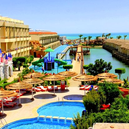 Egypt - Hurghada na 8 až 22 dní, all inclusive s dopravou letecky z Prahy přímo na pláži