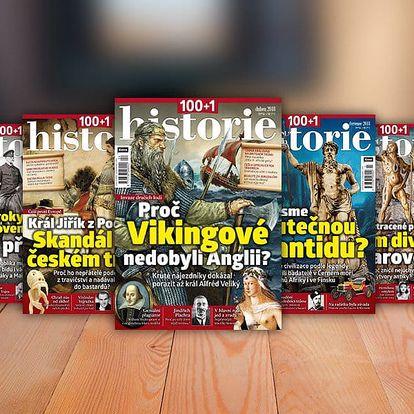 Časopis 100+1 historie, kompletní ročník 2018