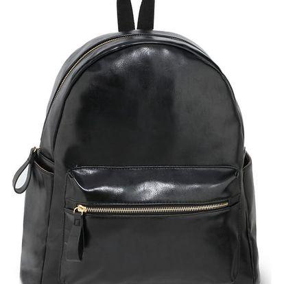 Dámský černý batoh Abby 186G