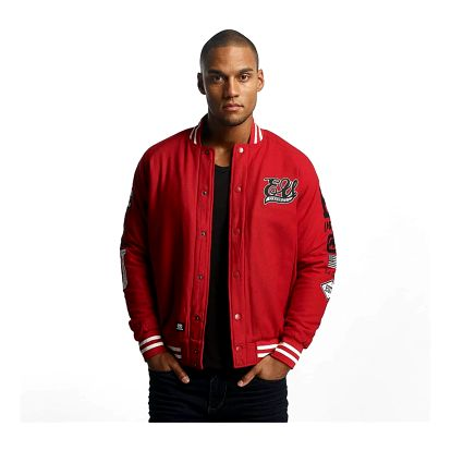Ecko Unltd. / College Jacket Big Logo in red M
