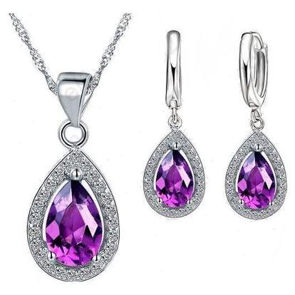 Krásné sety šperků pro ženy, včetně poštovného
