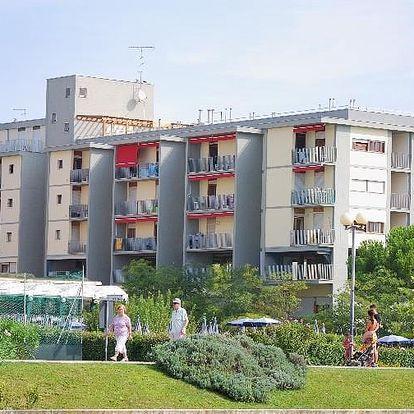 Itálie - Bibione na 6 až 8 dní, bez stravy s dopravou vlastní 50 m od pláže
