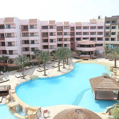 Egypt - Hurghada na 8 dní, all inclusive nebo polopenze s dopravou letecky z Prahy 150 m od pláže
