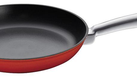 Litinová pánev na smažení Küchenprofi červená 20 cm