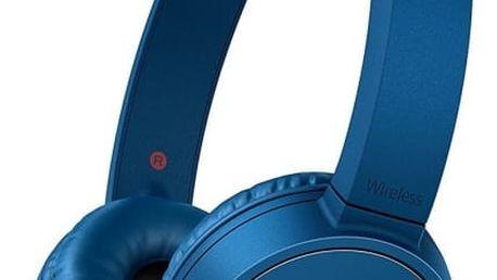 Sluchátka Sony WH-CH500L modré (WHCH500L.CE7)