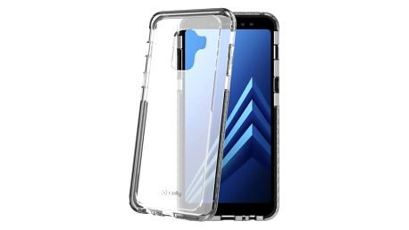 Kryt na mobil Celly Hexagon pro Samsung Galaxy A8 (2018) černý (HEXAGON705BK)