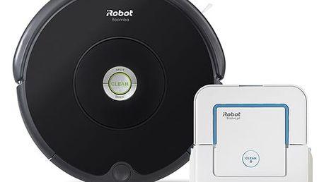 Vysavač robotický iRobot Roomba 606 + Braava jet 240