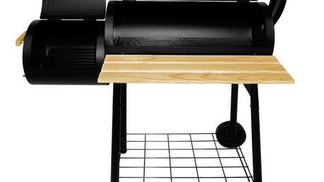 Všestranný plně vybavený zahradní BBQ gril s udírnou